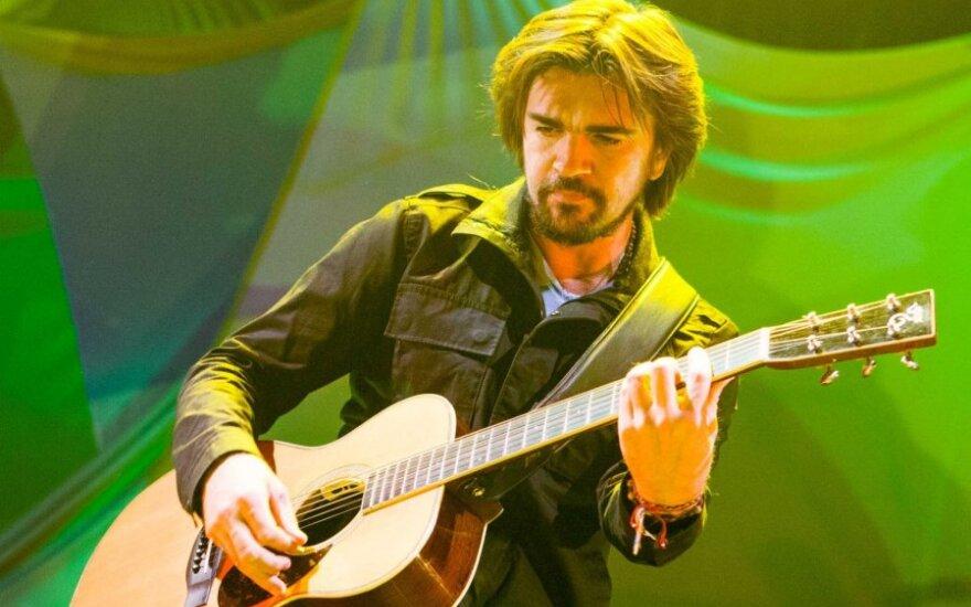 Juanes koncertas Vilniuje