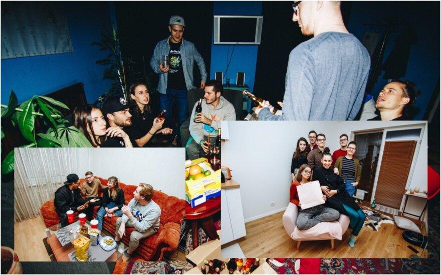 Namų vakarėliai