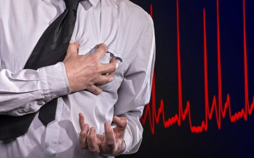 Jei jaučiate širdies plakimą