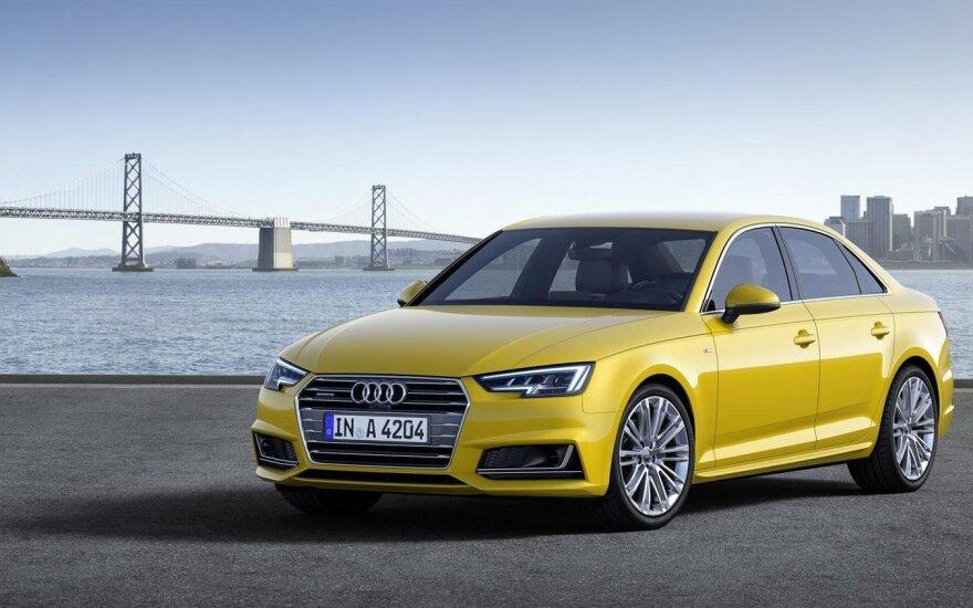 """Paskelbtos naujo """"Audi A4"""" kainos"""