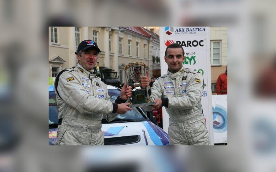 Žilvinas Sakalauskas ir Vytautas Švedas