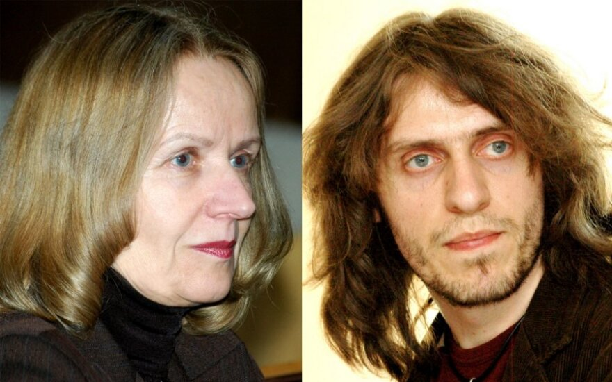Irena Andrukaitienė ir Erikas Druskinas