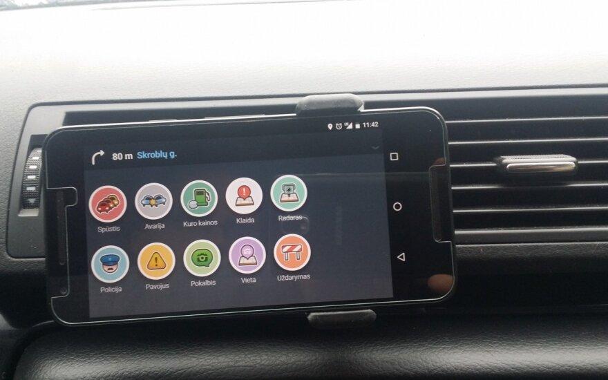 Vairuotojų socialinis tinklas Waze