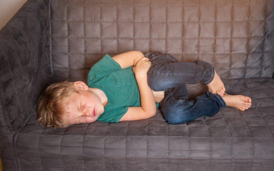Vaikui skauda pilvą