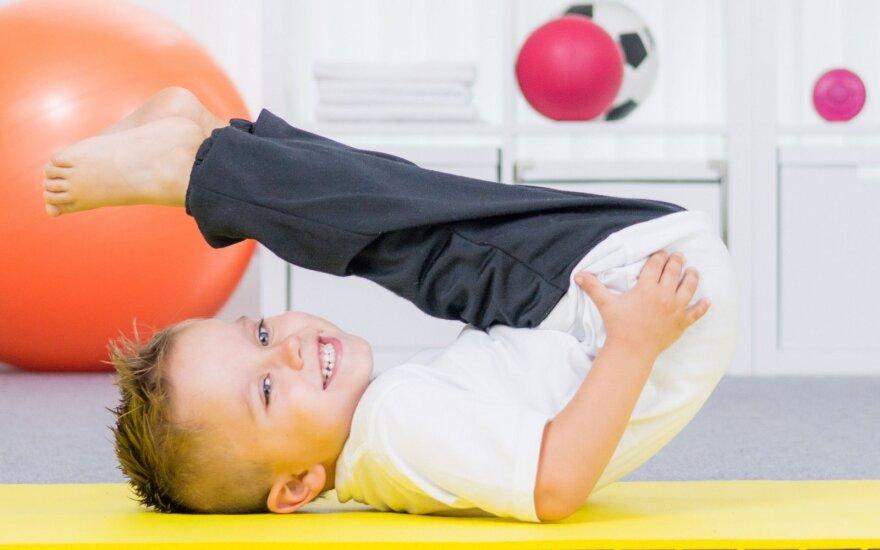 Naudingi trenerio patarimai, kad vaikai būtų sveiki ir laimingi