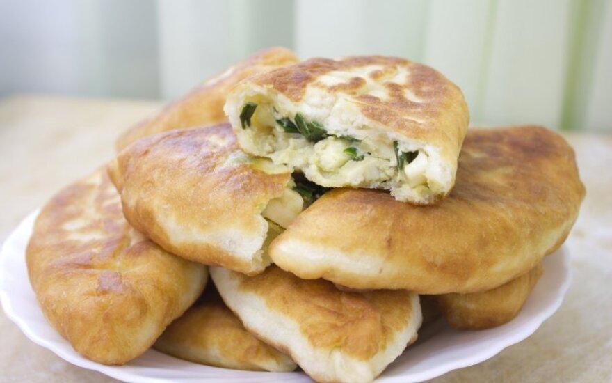 Greiti pyragėliai su sūriu