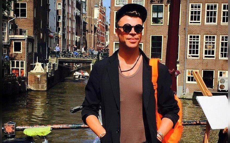 Juozas Statkevičius Amsterdame