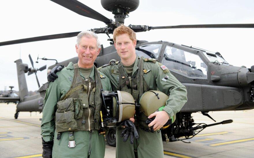 Princas Charlesas ir Princas Harry