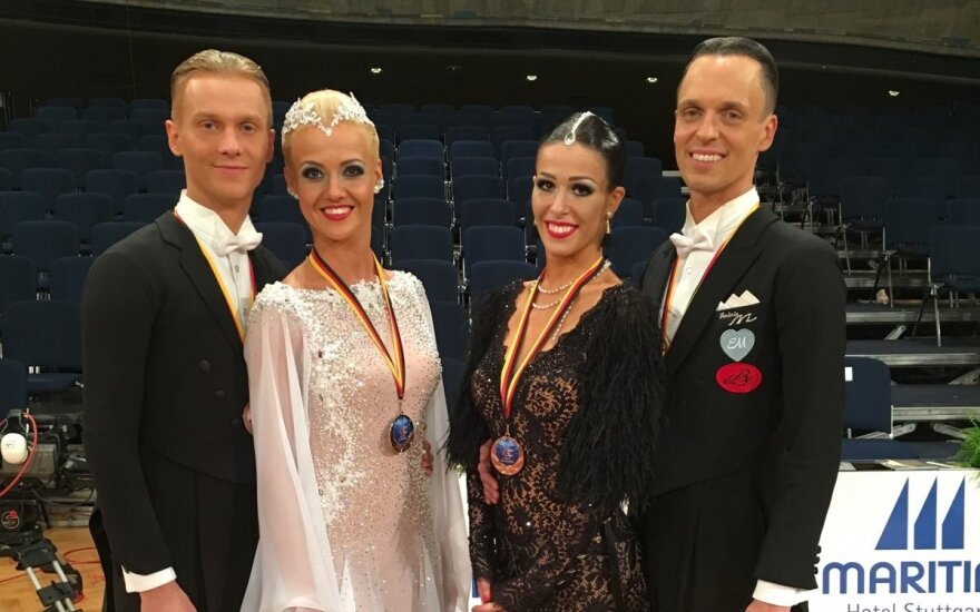 Lietuvos šokėjai metus pradėjo aukso ir sidabro medaliais Madride