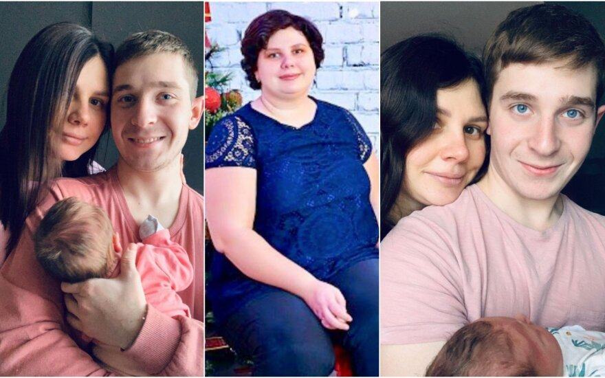 Marina Balmaševa su šeima