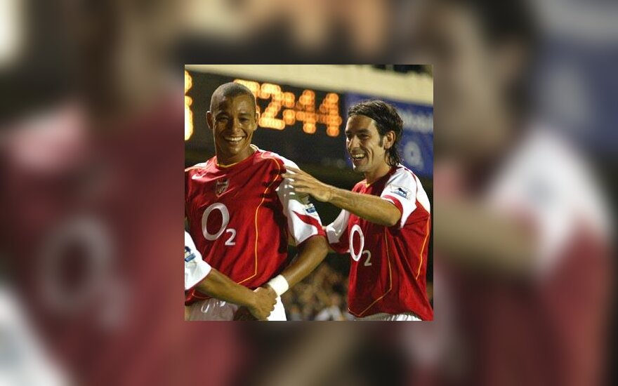 "Gilberto Silva ir Robert Pires (""Arsenal"")"