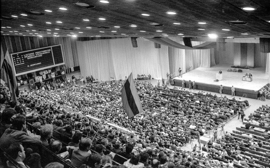Lietuvos Persitvarkymo Sąjūdžio Steigiamasis suvažiavimas Sporto rūmuose