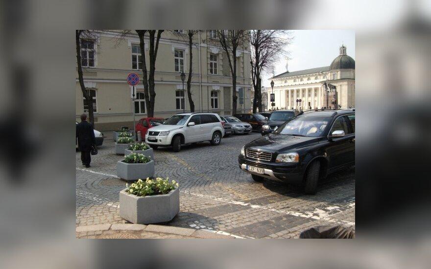 Vilniuje, Pilies g. 2. 2010-04-13, 16 val.
