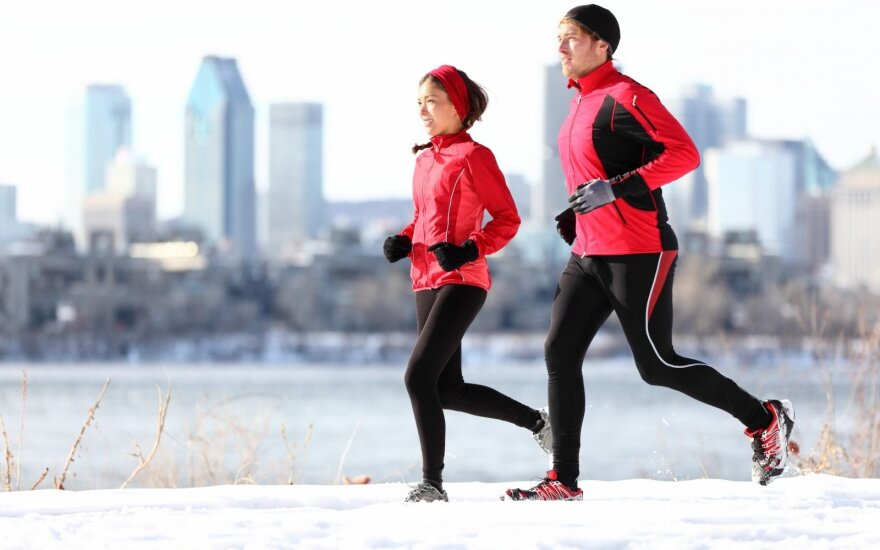 Bėgimas žiemą