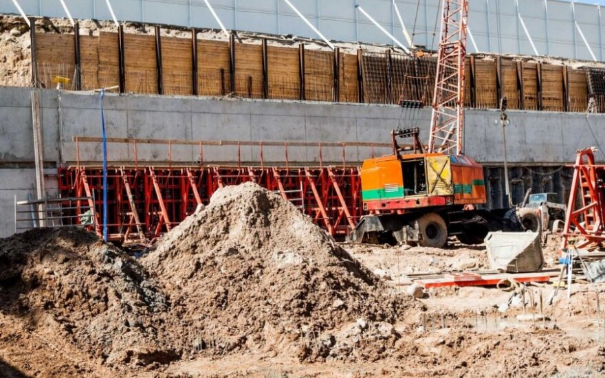 Ups and downs in Latvia's construction sector in 2014
