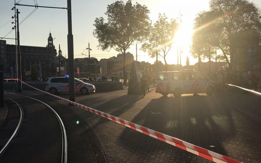 Automobilio avarija Amsterdame nebuvo teroristinė ataka