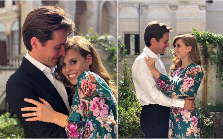 Princesė Beatrice susižadėjo su Edoardo Mapelli Mozzi