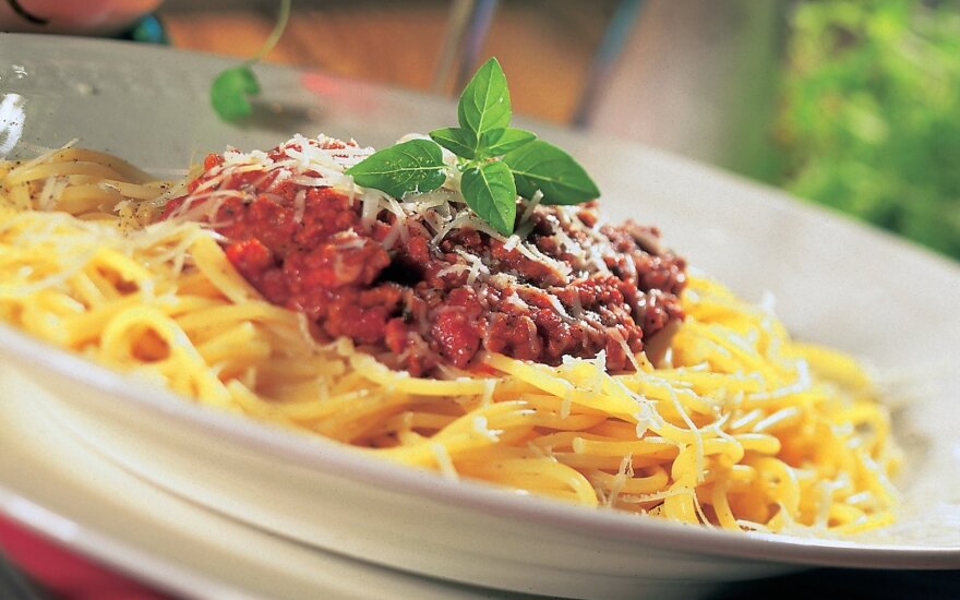 Spagečiai pagal tikrą itališką receptą