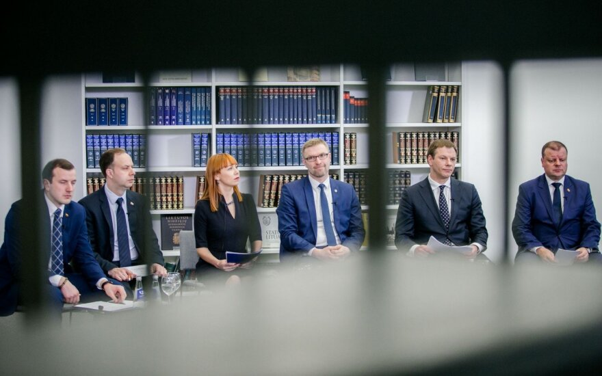 Lithuanian Govt presents reform
