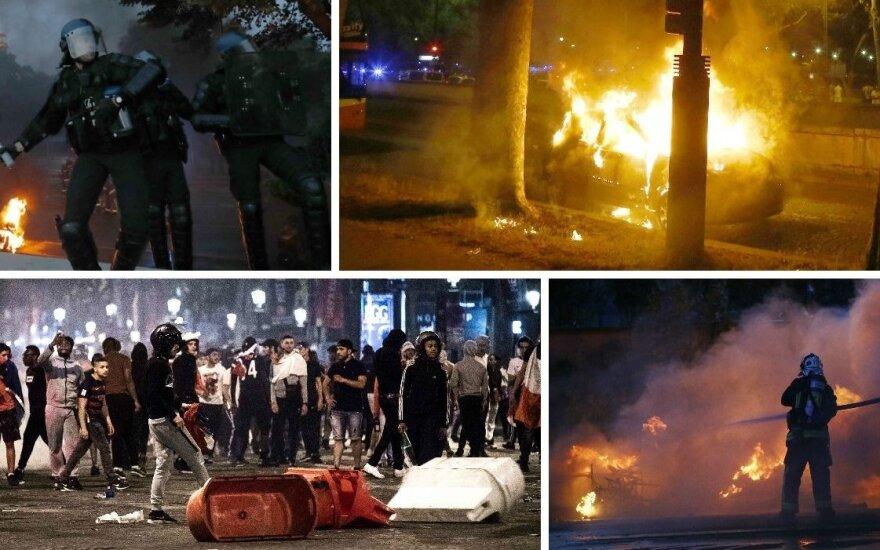 Chaosas Paryžiuje (AP/AFP/Reuters/Scanpix nuotr.)