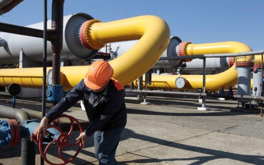Ekspertai vertins, ar didinti dujotiekio tarp Lietuvos ir Latvijos galią