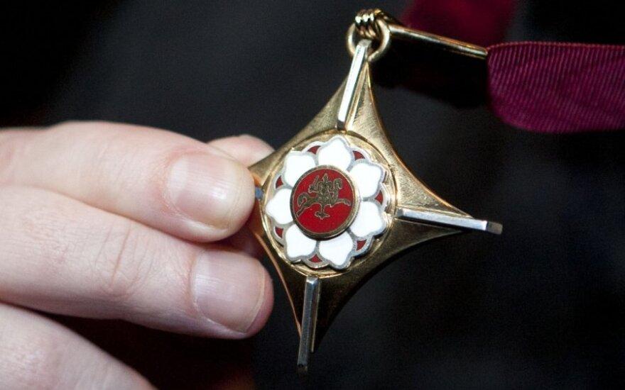Auksinių scenos kryžių teikimo ceremonija