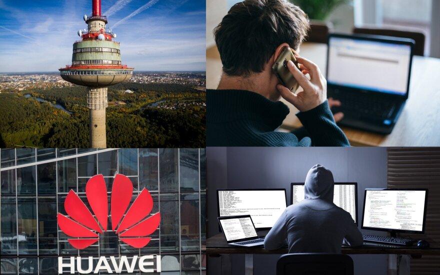 """Rusija į šalį įsileis """"Huawei"""" 5G ryšio tinklą"""