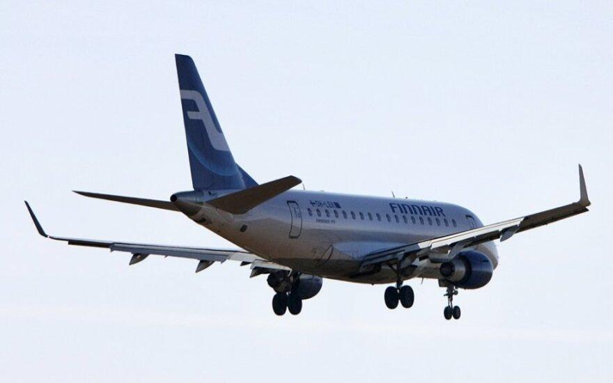 """""""Finnair"""" pasiekė rekordinį ketvirčio pelną"""