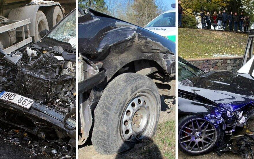 Po siaubingų avarijų Lietuvos keliuose moralas gali būti tik vienas