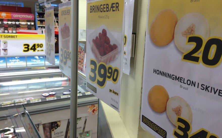 Norvegijos lietuvis parodė: kiek ten tautiečiai moka už daržoves