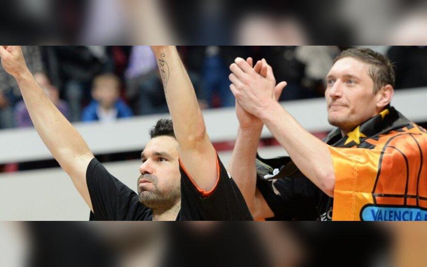 Rafa Martinezas ir Sergejus Liščiukas