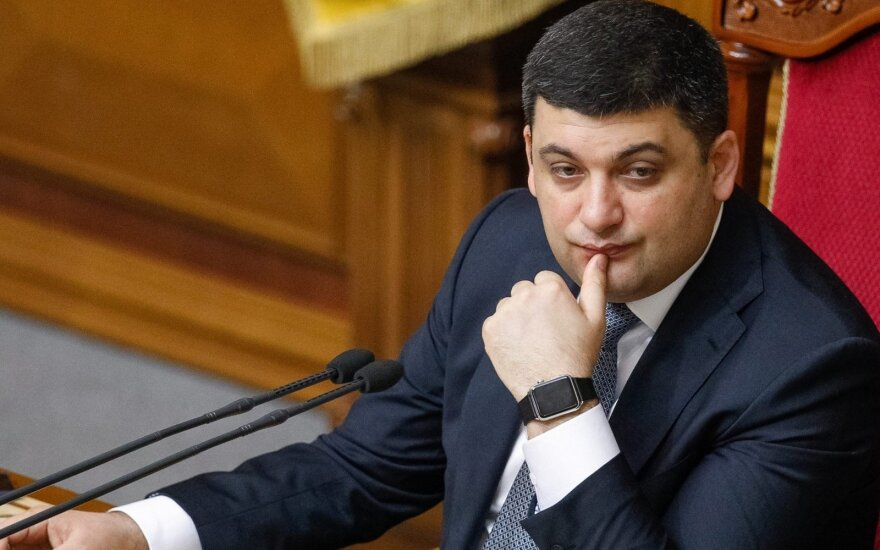 Ukrainian Prime Minister Volodymyr Groysman