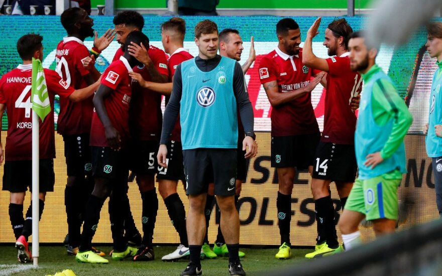 """""""Hannover"""" klubas Vokietijoje netikėtai pakilo į pirmą vietą"""