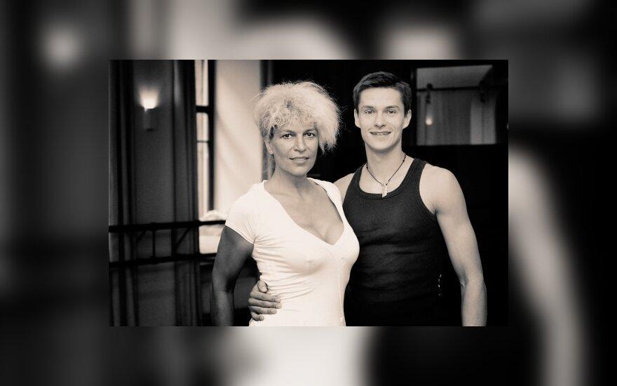 Tomas Uroška ir Svetlana Pronina