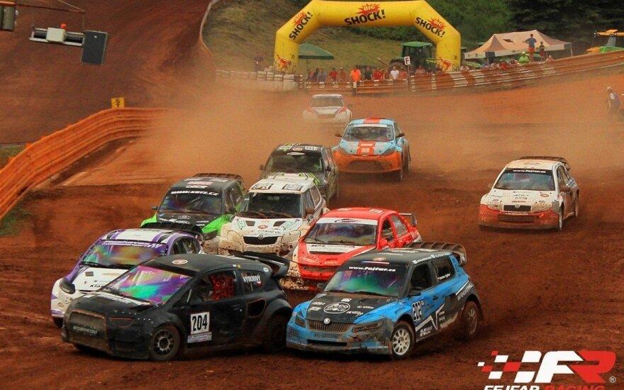 Europos automobilių kroso čempionato etapas Čekijoje