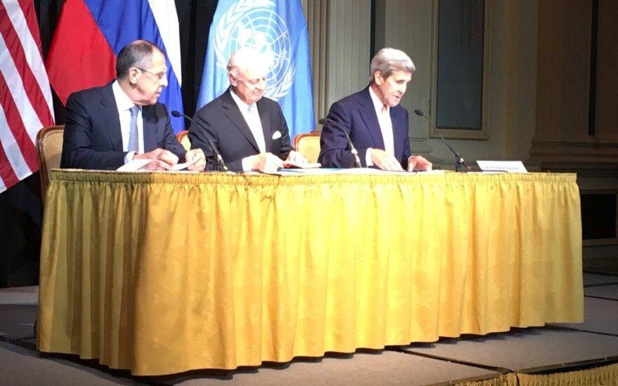 Derybos dėl Sirijos: prie stalo sėda ir Iranas