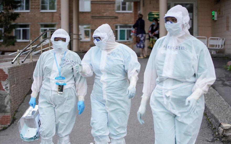 Norilsko meras pareiškė, kad oficialūs koronaviruso atvejų mieste skaičiai yra trigubai sumažinti