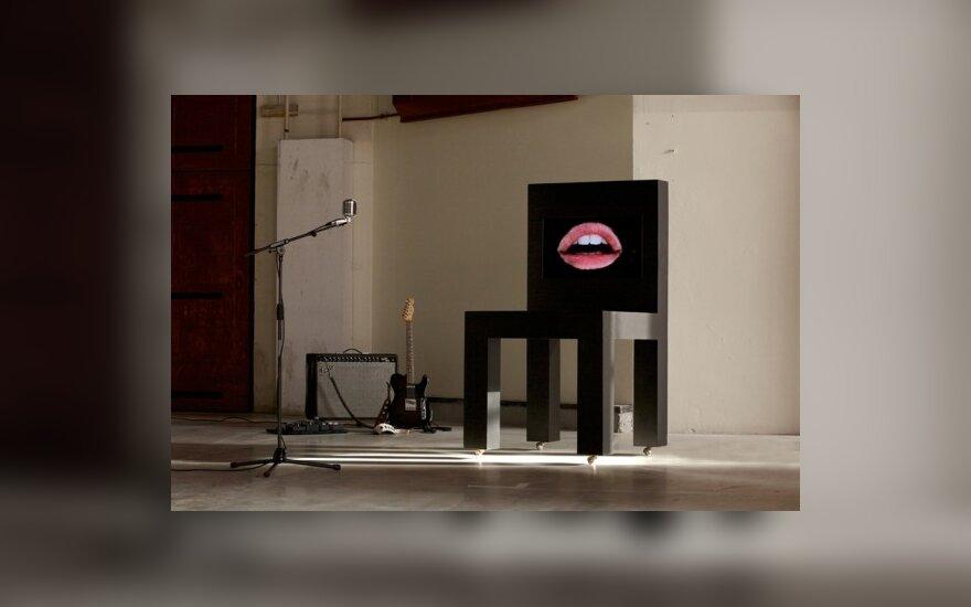Dainuojanti kėdė, Lucas Maassen (designboom.com nuotr.)