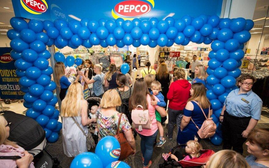 """""""Pepco"""" atidarymas Šiaulių Akropolyje"""
