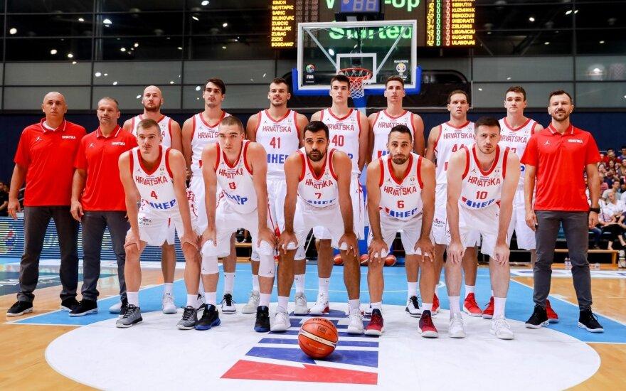 Kroatijos ir Kinijos rinktinės nusprendė dalyvauti NBA vasaros lygoje