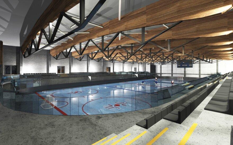 Nauja Kauno ledo arena
