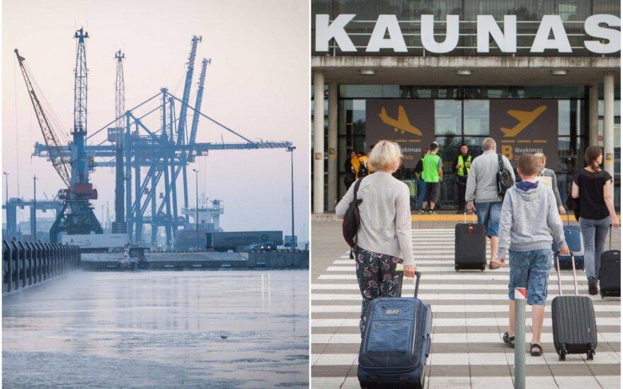 Jūrų ir oro uostų laukia neeilinės permainos