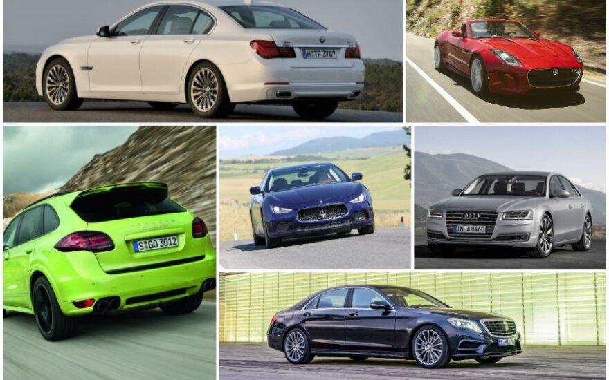 Automobilių spalvos