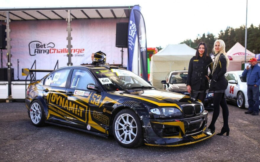 """Dynamit Energy"" komandos BMW M3"