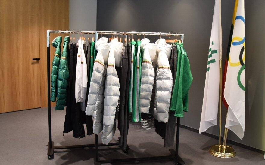 Lietuvos sportininkai išbandė žiemos olimpinių žaidynių aprangas