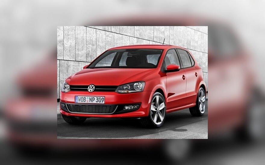 """""""Volkswagen"""" pristato penktąją """"Polo"""" kartą"""