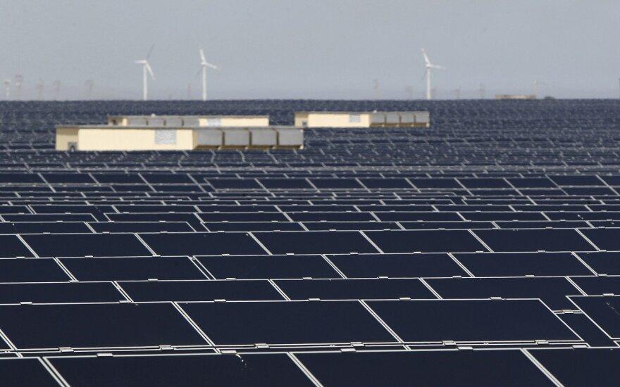 Saulės energetika, saulės jėgainės