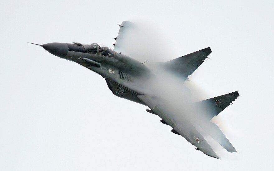 Egipte sudužo rusų gamybos naikintuvas MiG-29