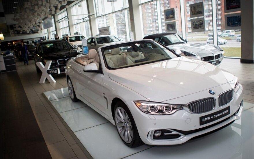 BMW 4-serijos kabrioletas