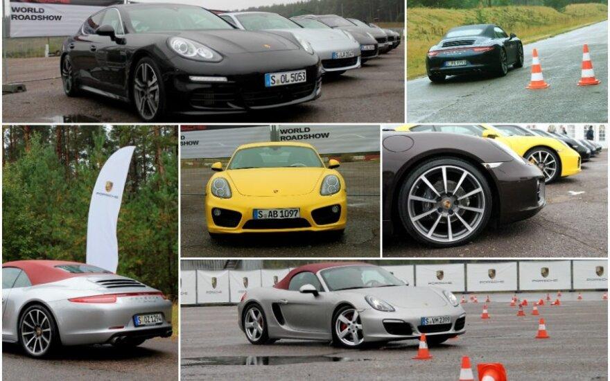 Porsche Roadshow Kačerginėje